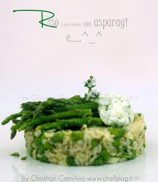 Riso con gli asparagi - http://www.chefblog.it/riso-con-gli-asparagi.html