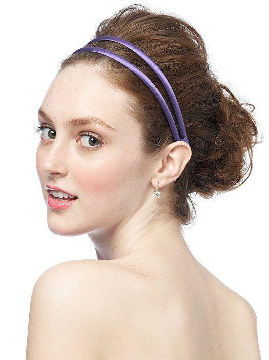 Double Headband in Matte Satin http://www.dessy.com/accessories/matte-satin-headband/#.UtsphtLTkUQ