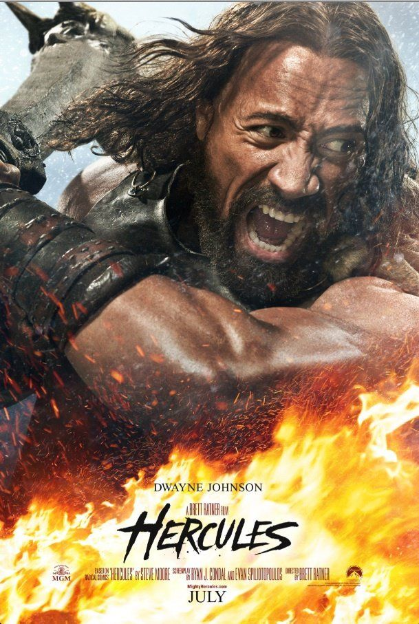 Hercules (2014) the Rock **