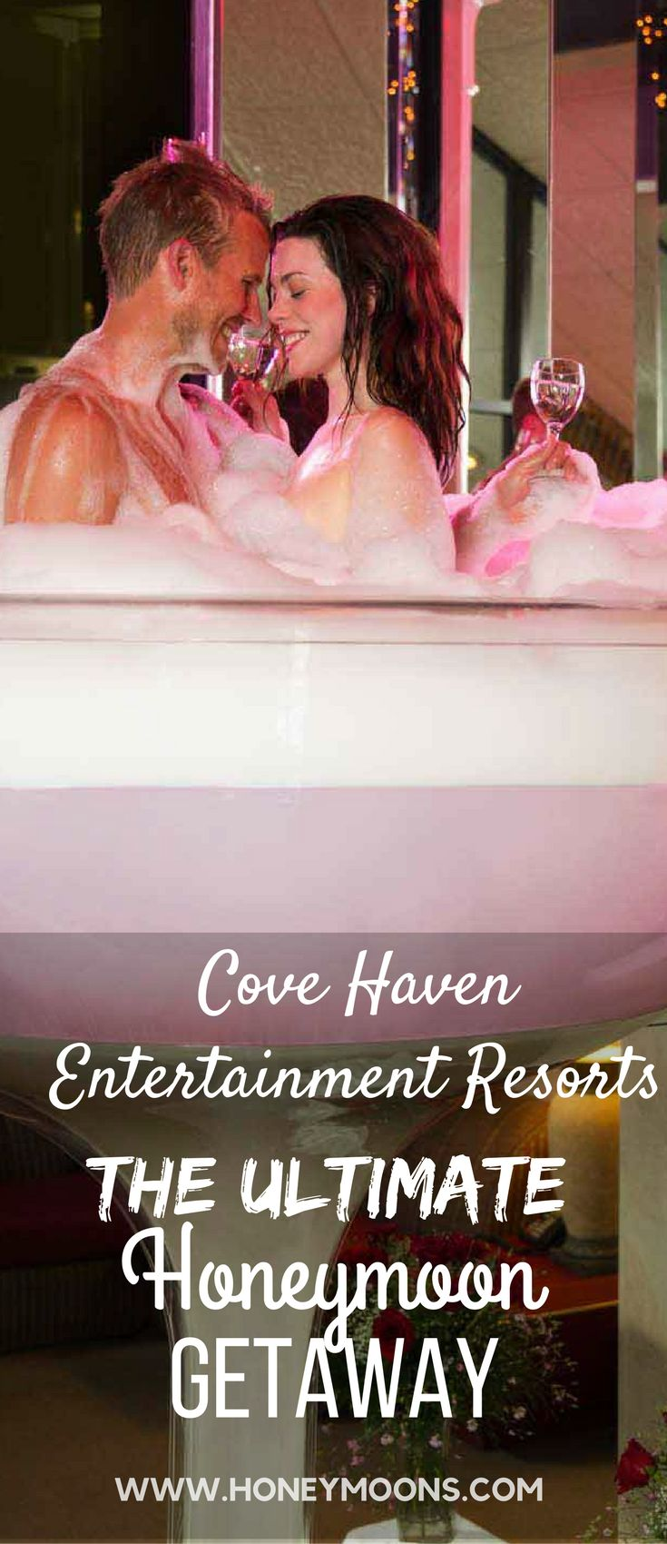 Make it an unforgettable honeymoon with an array of special touches provided by Cove Haven Entertainment Resorts' Ultimate Honeymoon Packages. Click through to see what their honeymoon packages offer!