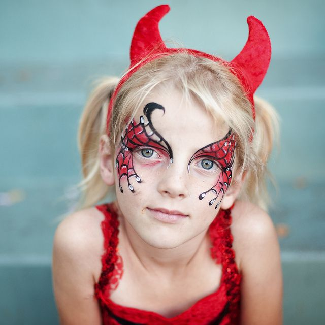 cute devil face paint | Recent Photos The Commons Getty Collection Galleries World Map App ...