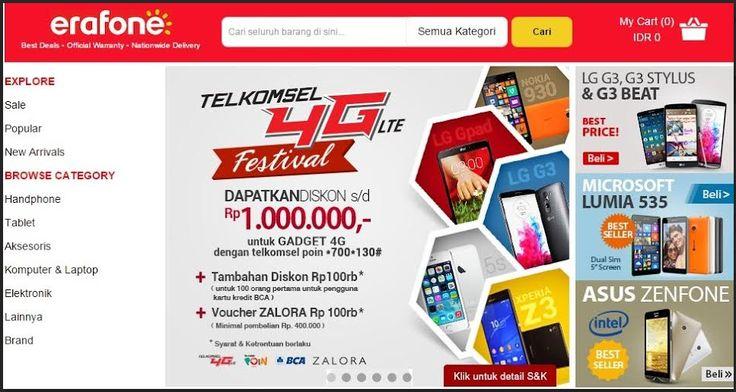 Telkomsel 4G LTE Festival, Diskon Sampai Rp. 1 Juta