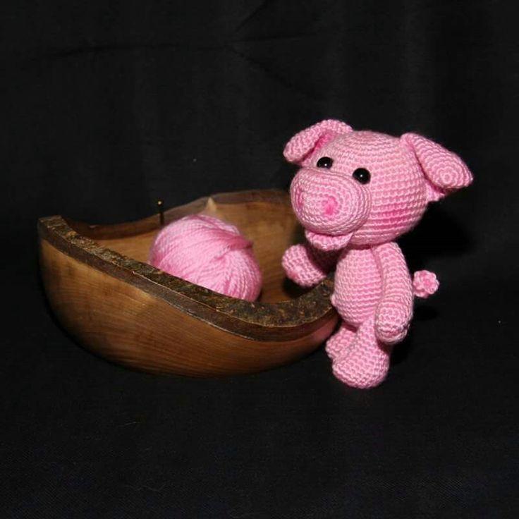 15 best Schwein häkeln images on Pinterest | Schwein häkeln ...
