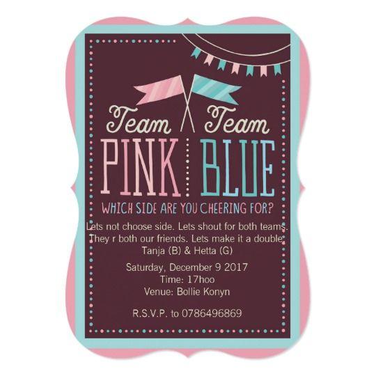 Hallmark | Team Pink or Team Blue Baby Shower Card