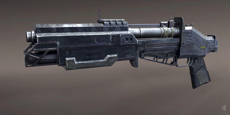 Multishot Grenade launcher design..!