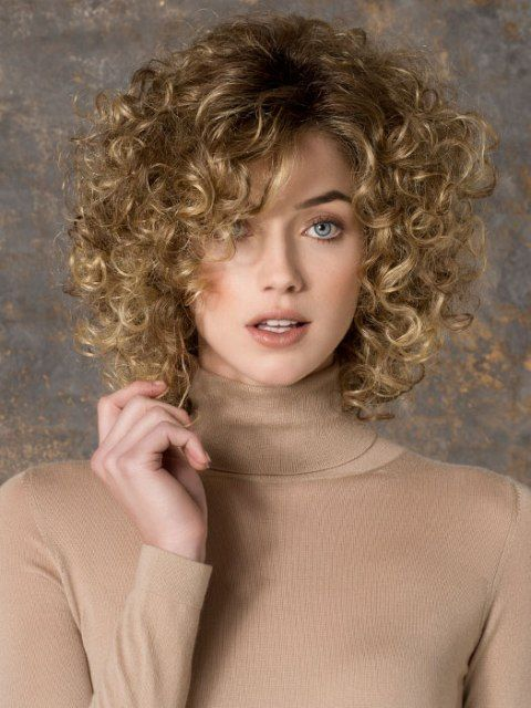 Short Curly Haircuts For Fine Hair