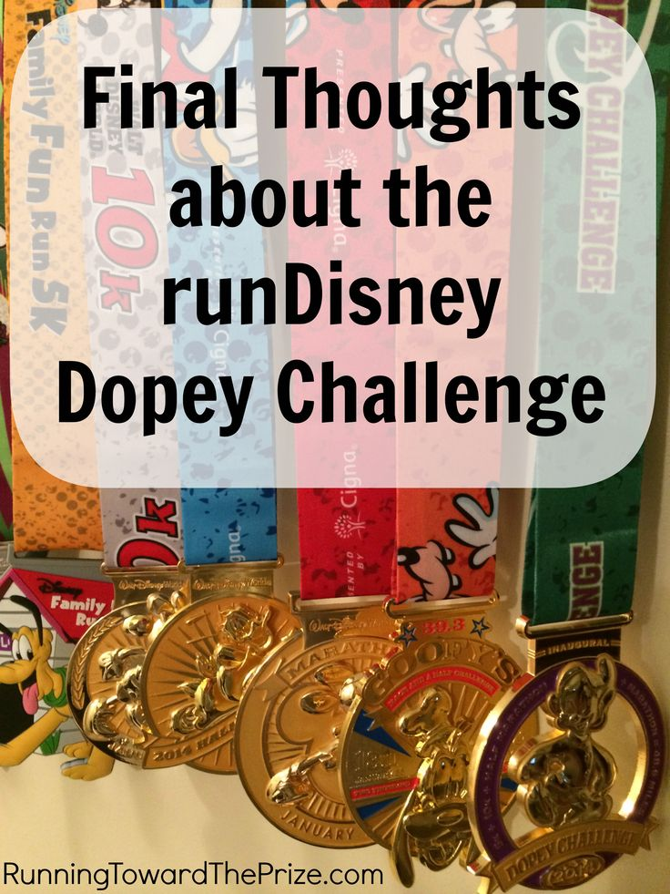 My final thoughts and answers to common questions regarding the runDisney Dopey Challenge.