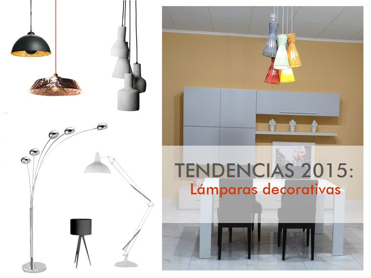 TENDENCIAS 2015: Lámparas decorativas
