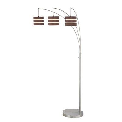shop lite source 3 light matia arch floor lamp polished steel at loweu0027s canada find our selection of floor lamps at the lowest price guaranteed with price