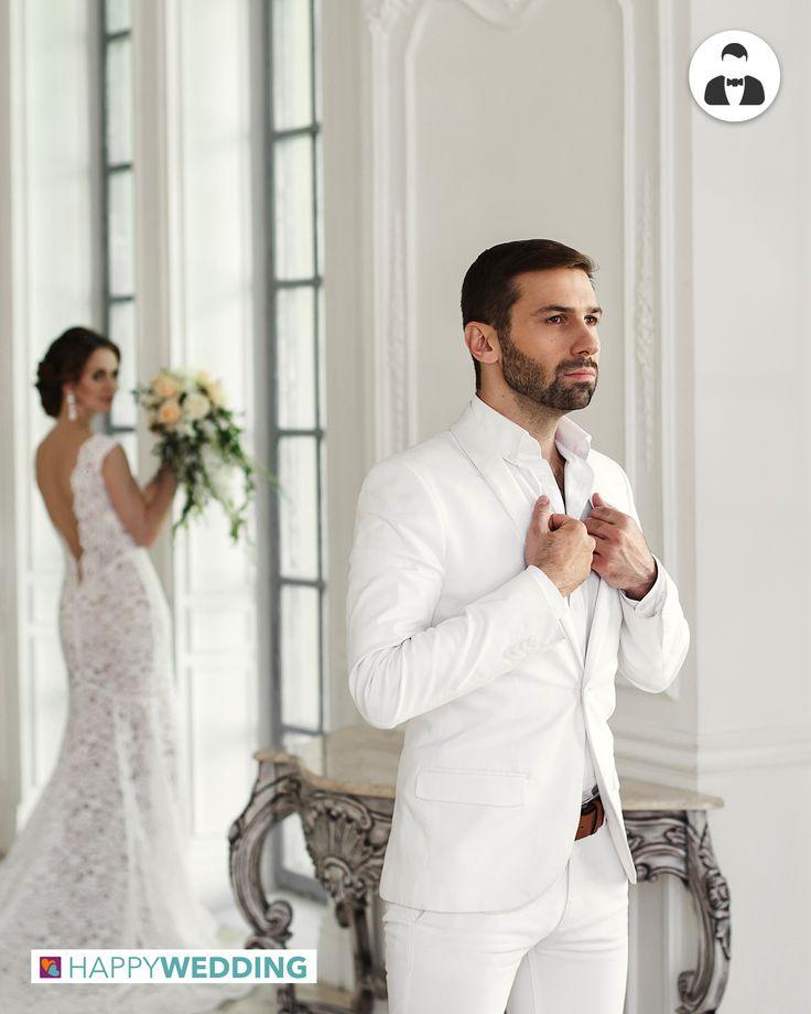 E se per il 2017 l'abito da sposo fosse bianco? https://goo.gl/BQzXjt