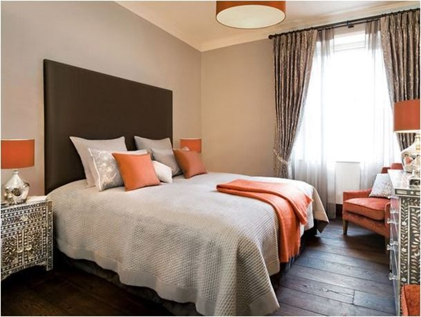 Awesome Decorating With Orange And Gray | ... Girl » Blog Archive Decorating With. Part 25