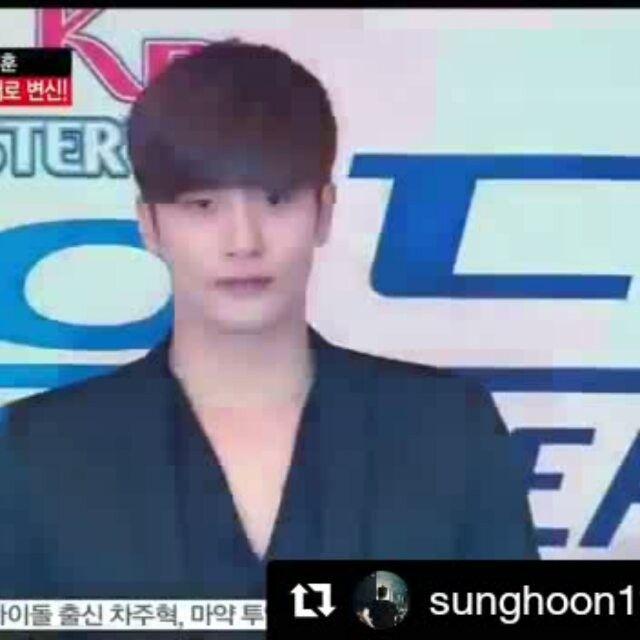 28 個讚,1 則留言 - Instagram 上的 Debbie Moh(@debbie_moh):「 #Repost @sunghoon1983_support ・・・ [ VIDEO ] 2017.04.17 #성훈 #SUNGHOON attended #SBS PRESS CONFERENCE… 」