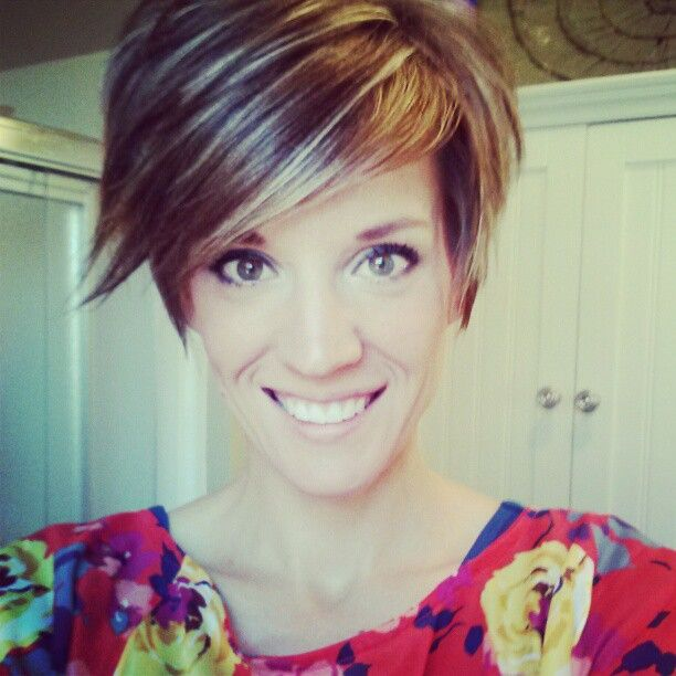 215 best Cute short hairstyles images on Pinterest