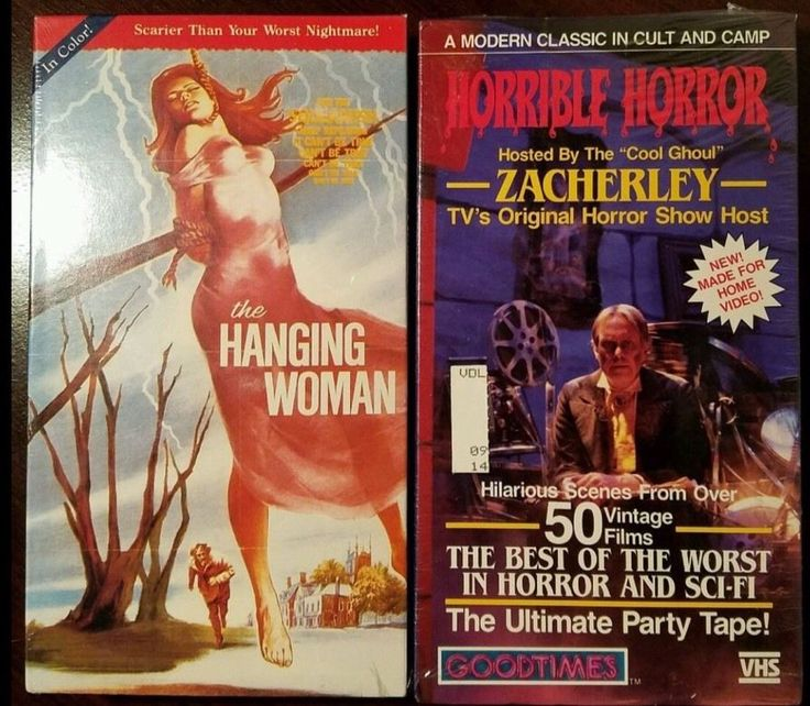 THE HANGING WOMAN VHS Horror Stanley Cooper -OUT OF PRINT*SEALED* W/Free VHS