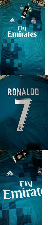 Men 123490: Ronaldo Real Madrid 3Rd Jersey 2017-2018 Medium Adult Size -> BUY IT NOW ONLY: $44.99 on eBay!