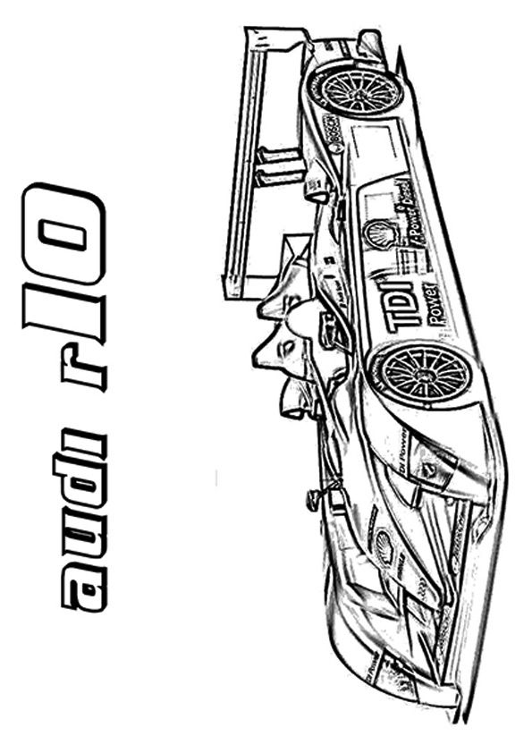 20 Interesting Sports Car Coloring Pages For Your Sports