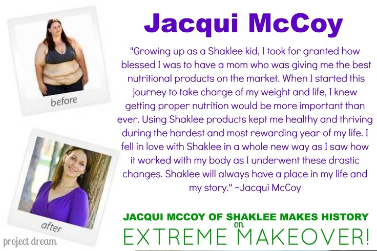 jacqui extreme makeover weight loss height