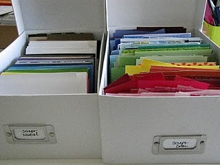 Another way to store paper scraps