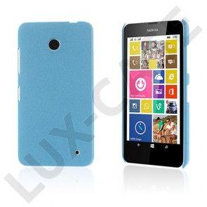 Grundsten (Vaalea Sininen) Nokia Lumia 630 / 635 Suojakuori