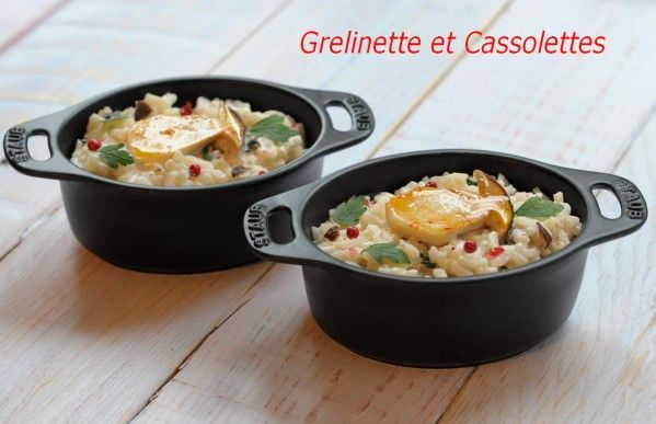 C'est un risotto particulièrement gourmand ! Si on ne dispose pas de cèpes, on peut le préparer avec d'autres champignons de saison, frais ou réhydratés. Dans le cas de champignons séchés, utiliser leur eau de trempage pour la cuisson du riz, avec le...