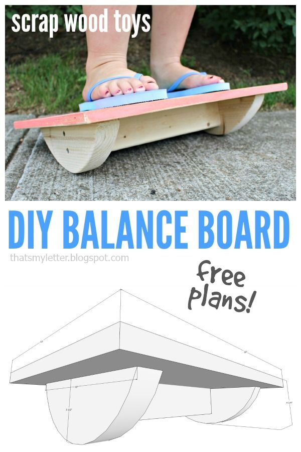 free woodworking plans diy projects. that\u0027s my letter: diy balance board with free plans | #scrapworklove #getbuilding2015 pinterest board, and woodworking projects