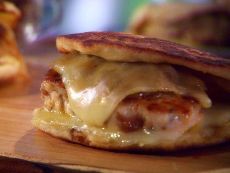 Chicken Chorizo Patty Melt from Sunny Anderson