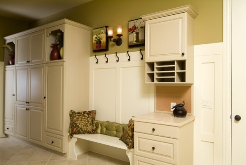 Mudroom: Mudroom Design, Idea, Benches, Mud Rooms, Garage, Photo, Entryway, Traditional Entry, Charging Stations