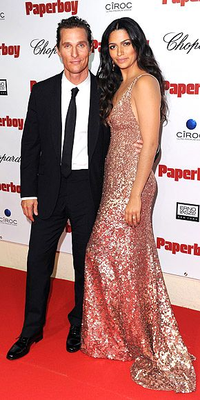 A PREMIERE COUPLE  photo | Camila Alves, Matthew McConaughey