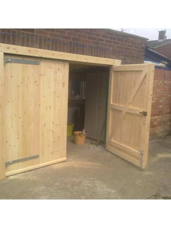Details About Custom Made To Measure Timber Wooden Garage