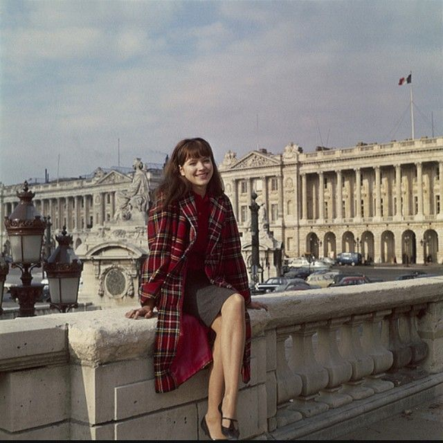 French New Wave icon ⭐Anna Karina ⭐looks so timeless in plaid. We have #plaid skirts, crop tops, jumpers and dresses by @actthreeapparel and @birdsofna in stores and online.