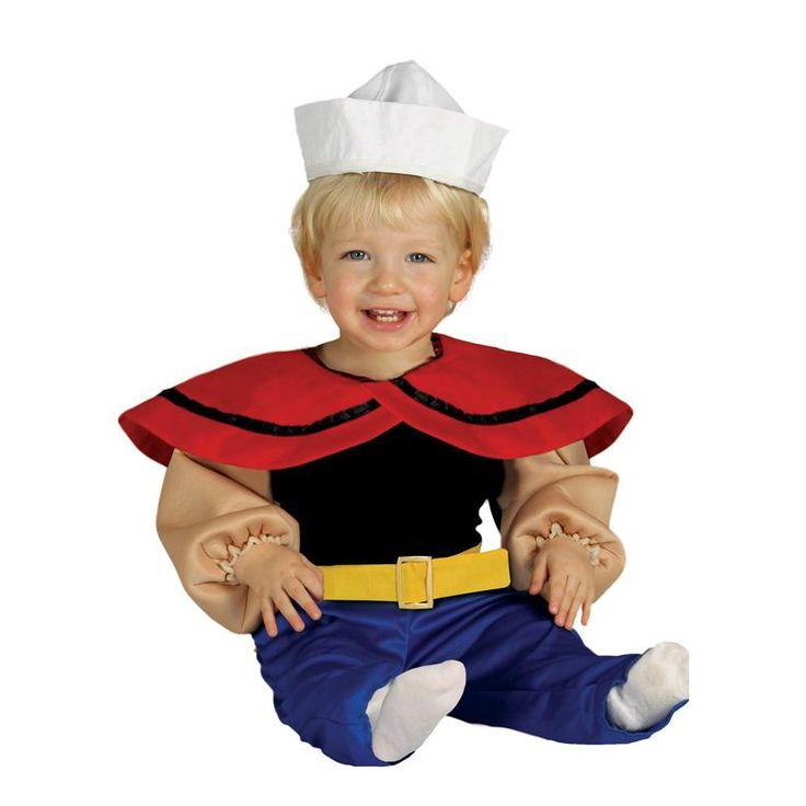 Disfraz de Popeye #disfraces #carnaval