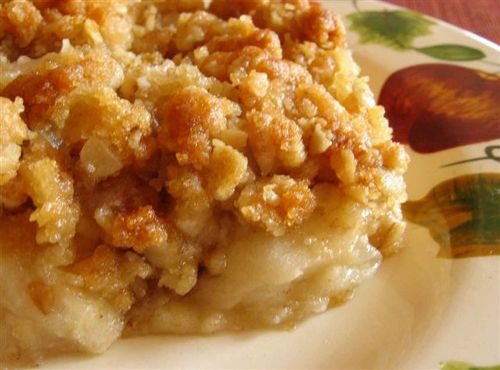 Croustade aux pommes (2)