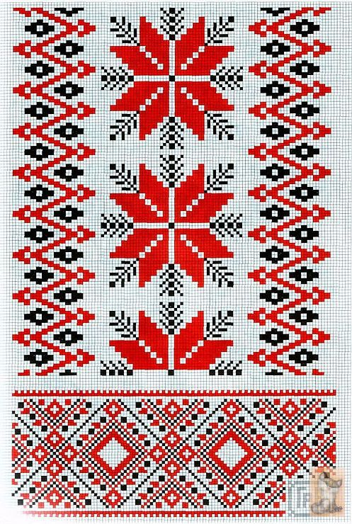 Gallery.ru / Photo # 75 - schemes for rushniks - anapa-mama