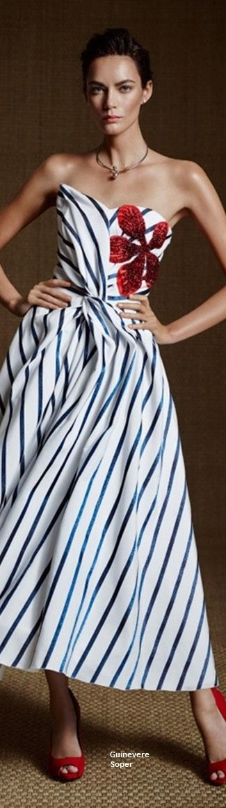 jαɢlαdy striped off shoulder dress women fashion outfit clothing style apparel @roressclothes closet ideas