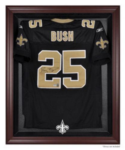 New Orleans Saints Mahogany Framed NFL Jersey Case