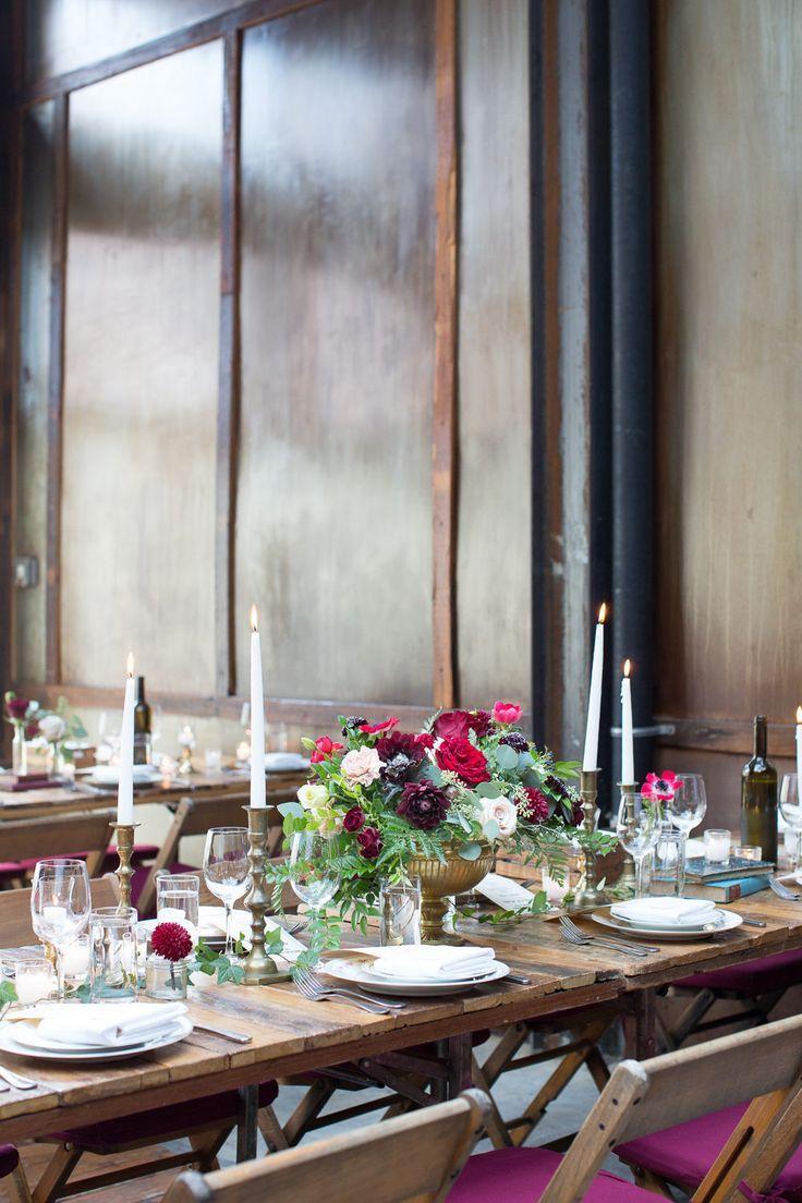 Elegant + Vintage Parisian Wedding in Brooklyn in 2020
