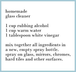 homemade glass cleaner || curious to try this when my current bottle runs out