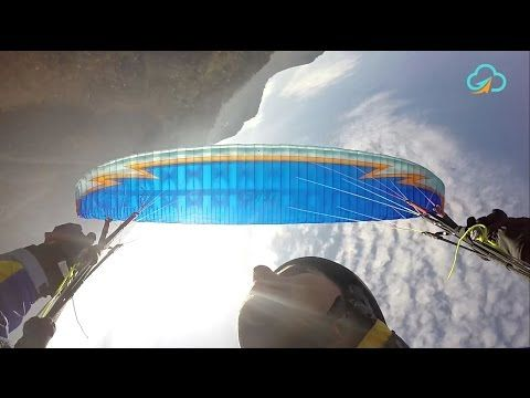 Paragliding Byte - Spiral Dive - YouTube