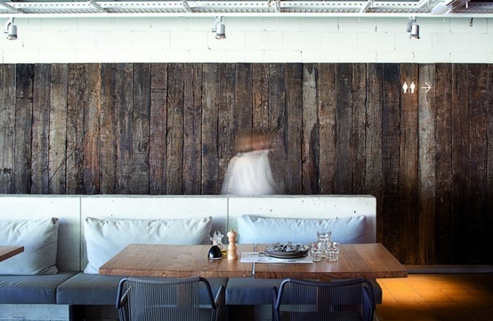 Wall Cladding design using reclaimed timber