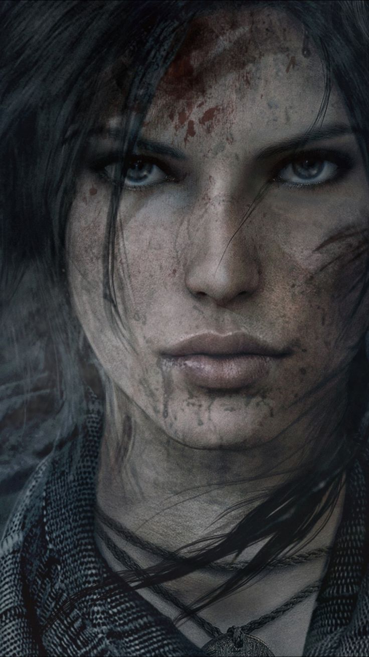 tomb raider lara croft face (Gamer Gadgets)