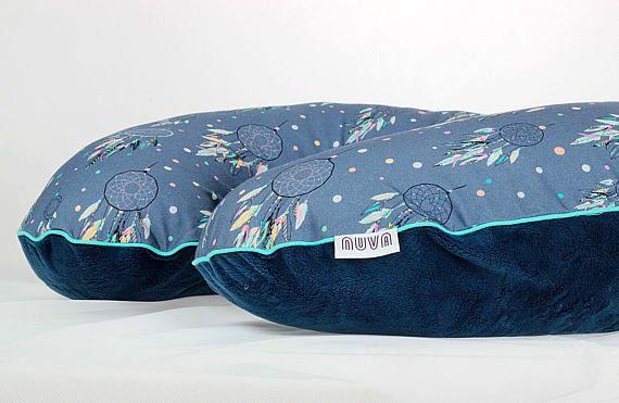 Boppy Cover Custom Boppy Pillow Cover Dreamcatcher Navy