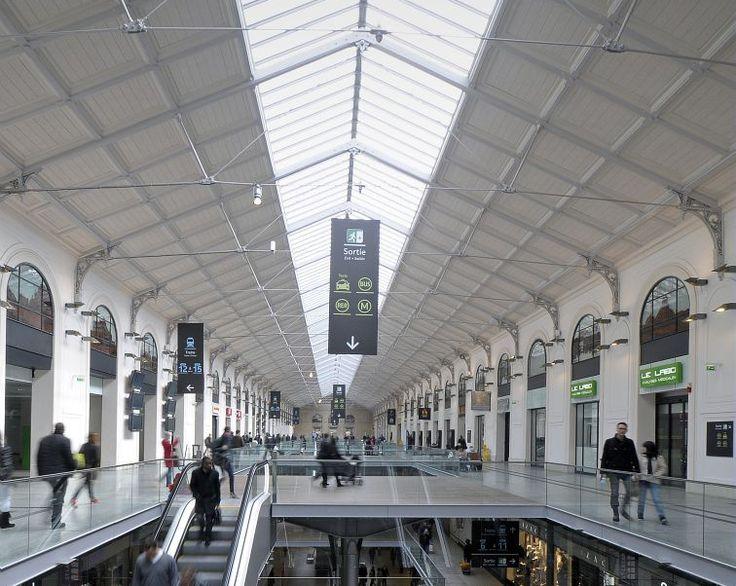 Signalétique Gare St Lazare - AREP Design