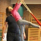 Nieuwe trapeze voor Circus op de Utrechtse Heuvelrug