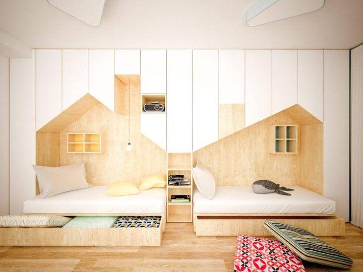 Anotherstudio Kinderzimmer Ideen Gemeinsames Schlafzimmer Kinderschlafzimmer Kinder Zimmer