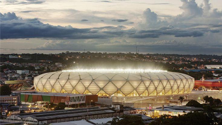 Arena da amazonia by gmp architekten ready for world cup in Brazil