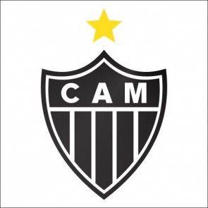 Adesivo de Parede Escudo Atlético Mineiro