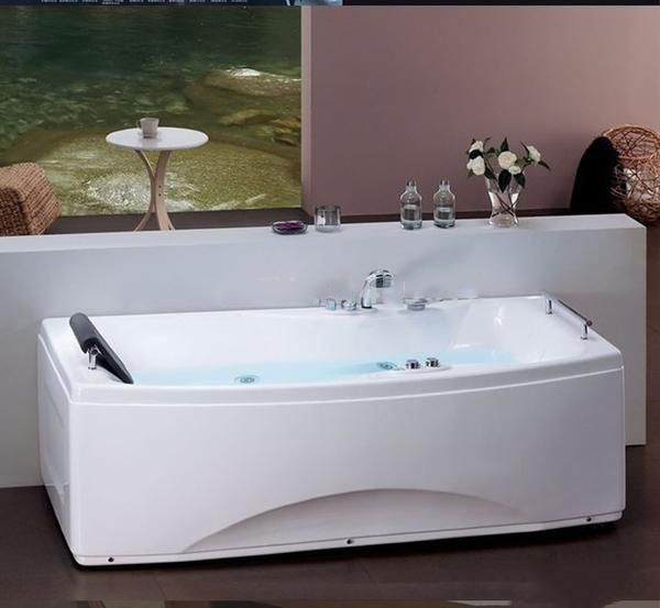 67'Whirlpool Bathtub Acrylic ABS Composite Board Piscine Massage Hot tub W4006