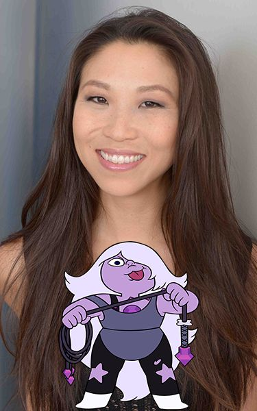 Michaela Dietz is a Korean-American performer and voice over actress whose credits include: Steven Universe (Amethyst), Barney & Friends (Riff), and Grand Theft Auto V. We are happy to welcome her to her first MomoCon in 2017!