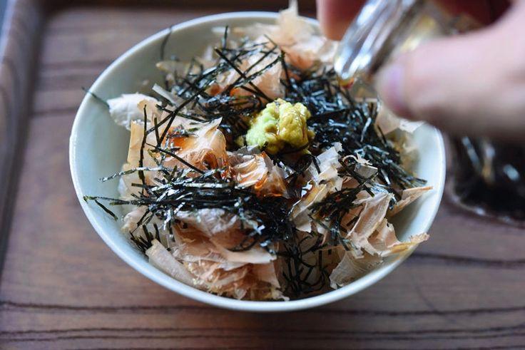 生わさび丼のレシピ/作り方  ©白ごはん.com