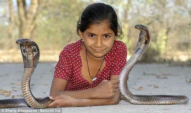 De 11-jarige Cobraprinses